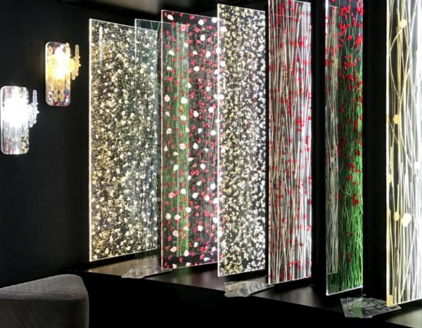 Panneaux en acrylique
