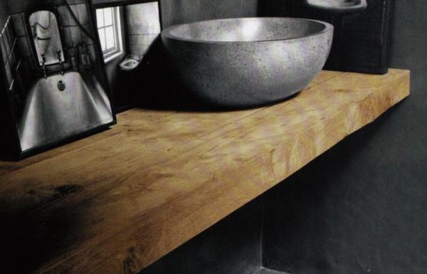 Plans de salle de bain en bois