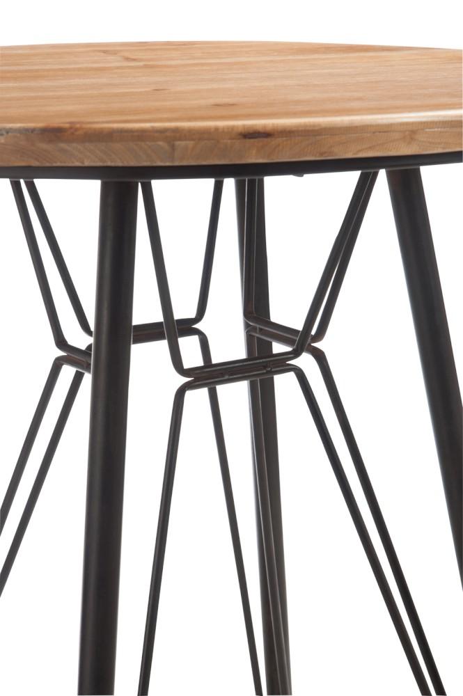 table haute industriel - Table Bar Industriel