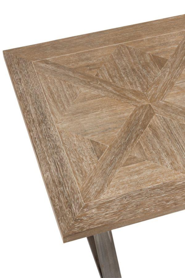 Table plateau bois
