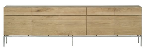 Buffet OAK LIGNA BLACK d'Ethnicraft